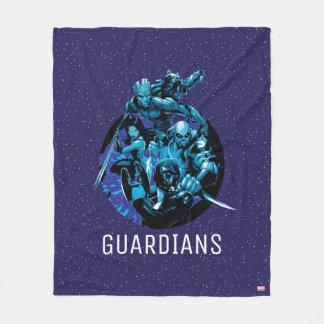 Guardians of the Galaxy | Blue Crew Graphic Fleece Blanket