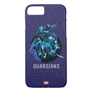 Guardians of the Galaxy | Blue Crew Graphic iPhone 8/7 Case