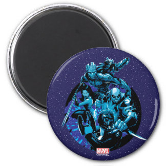 Guardians of the Galaxy | Blue Crew Graphic Magnet