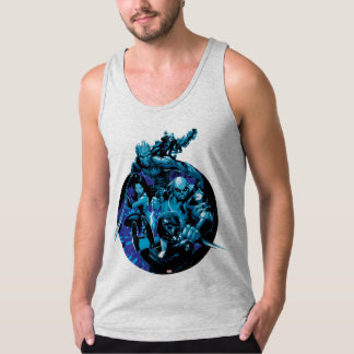 Guardians of the Galaxy | Blue Crew Graphic Tank Top