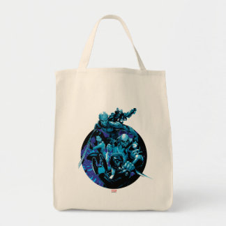 Guardians of the Galaxy | Blue Crew Graphic Tote Bag
