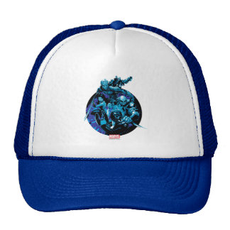 Guardians of the Galaxy | Blue Crew Graphic Trucker Hat