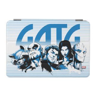 Guardians of the Galaxy | Cartoon Crew Retro Logo iPad Mini Cover