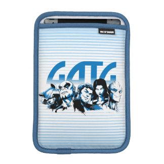 Guardians of the Galaxy | Cartoon Crew Retro Logo iPad Mini Sleeve