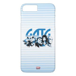 Guardians of the Galaxy | Cartoon Crew Retro Logo iPhone 8 Plus/7 Plus Case