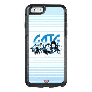 Guardians of the Galaxy | Cartoon Crew Retro Logo OtterBox iPhone 6/6s Case