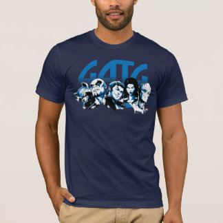 Guardians of the Galaxy | Cartoon Crew Retro Logo T-Shirt