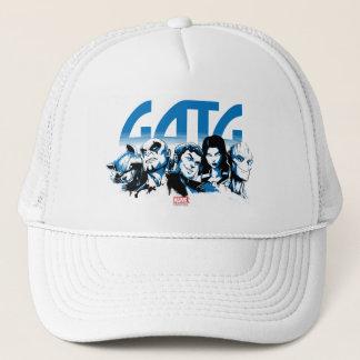 Guardians of the Galaxy | Cartoon Crew Retro Logo Trucker Hat
