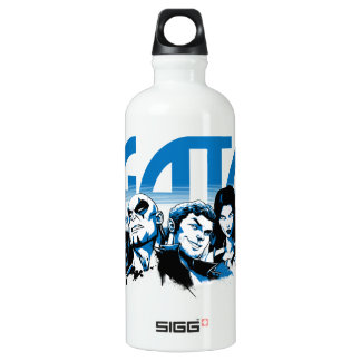 Guardians of the Galaxy | Cartoon Crew Retro Logo Water Bottle