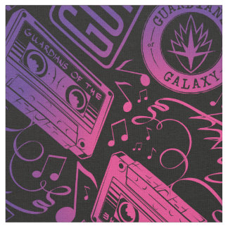 Guardians of the Galaxy | Cassette Tape Unraveled Fabric