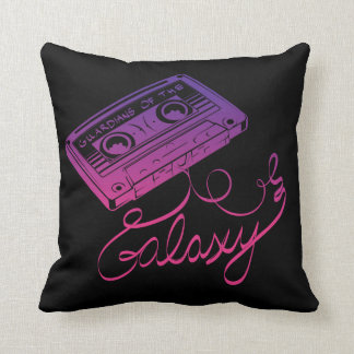 Guardians of the Galaxy | Cassette Tape Unraveled Throw Pillow