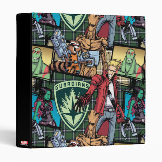 Guardians of the Galaxy | Comic Crew Pattern 3 Ring Binder