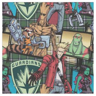 Guardians of the Galaxy | Comic Crew Pattern Fabric