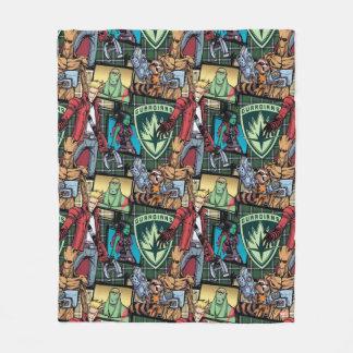 Guardians of the Galaxy | Comic Crew Pattern Fleece Blanket