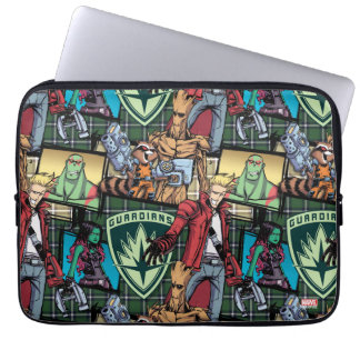 Guardians of the Galaxy | Comic Crew Pattern Laptop Sleeve