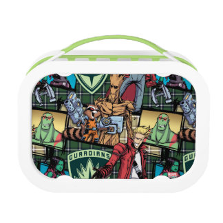 Guardians of the Galaxy | Comic Crew Pattern Lunch Box