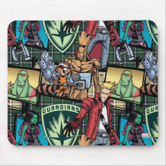 Guardians of the Galaxy | Comic Crew Pattern Mouse Pad