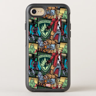 Guardians of the Galaxy | Comic Crew Pattern OtterBox Symmetry iPhone 8/7 Case
