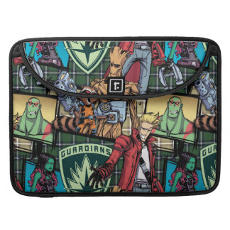 Guardians of the Galaxy | Comic Crew Pattern Sleeve For MacBook Pro