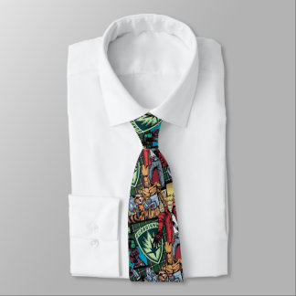 Guardians of the Galaxy | Comic Crew Pattern Tie