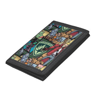 Guardians of the Galaxy | Comic Crew Pattern Trifold Wallet