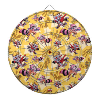 Guardians of the Galaxy | Comic Star Pattern Dart Boards