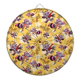 Guardians of the Galaxy | Comic Star Pattern Dartboard