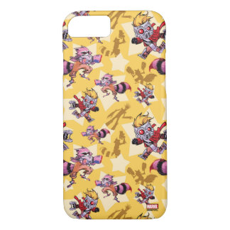 Guardians of the Galaxy | Comic Star Pattern iPhone 8/7 Case