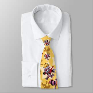Guardians of the Galaxy | Comic Star Pattern Tie