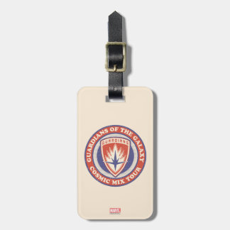 Guardians of the Galaxy | Cosmic Mix Tour Badge Luggage Tag
