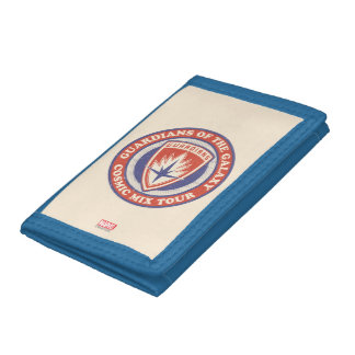Guardians of the Galaxy | Cosmic Mix Tour Badge Trifold Wallets