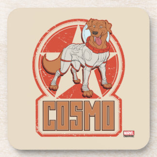 Guardians of the Galaxy | Cosmo Character Badge Coaster