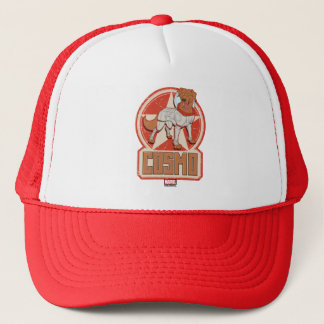 Guardians of the Galaxy   Cosmo Character Badge Trucker Hat