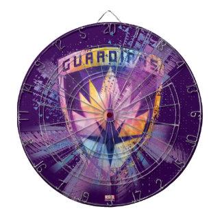 Guardians of the Galaxy   Crest Neon Burst Dart Boards