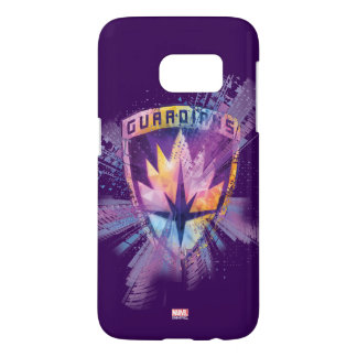 Guardians of the Galaxy | Crest Neon Burst Samsung Galaxy S7 Case
