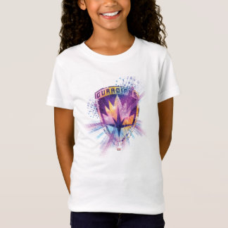Guardians of the Galaxy | Crest Neon Burst T-Shirt