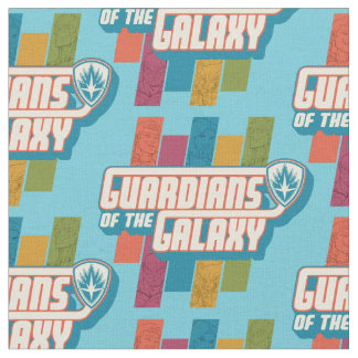 Guardians of the Galaxy | Crew Color Bar Logo Fabric