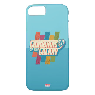 Guardians of the Galaxy | Crew Color Bar Logo iPhone 8/7 Case