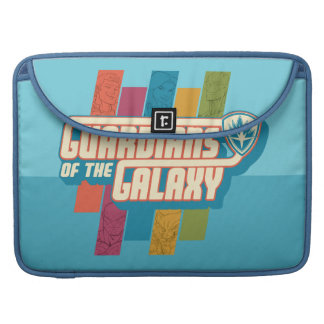 Guardians of the Galaxy | Crew Color Bar Logo Sleeve For MacBook Pro