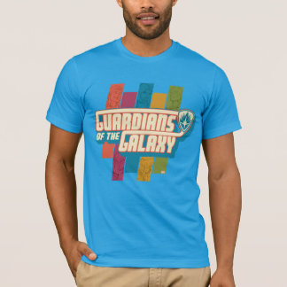 Guardians of the Galaxy | Crew Color Bar Logo T-Shirt