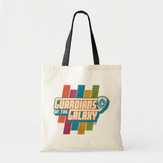 Guardians of the Galaxy   Crew Color Bar Logo Tote Bag