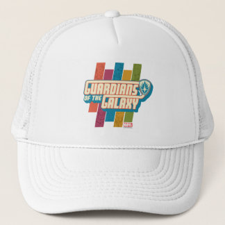 Guardians of the Galaxy | Crew Color Bar Logo Trucker Hat