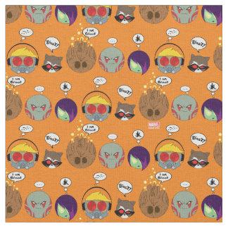 Guardians of the Galaxy | Crew Comic Emoji Art Fabric