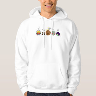 Guardians of the Galaxy | Crew Comic Emoji Art Hoodie