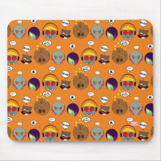 Guardians of the Galaxy | Crew Comic Emoji Art Mouse Pad