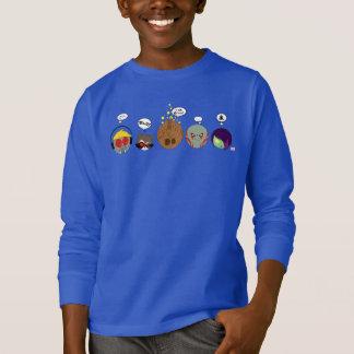 Guardians of the Galaxy   Crew Comic Emoji Art T-Shirt