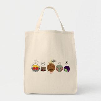 Guardians of the Galaxy | Crew Comic Emoji Art Tote Bag