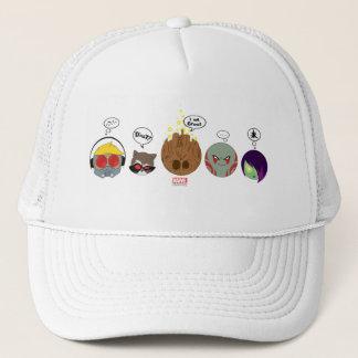 Guardians of the Galaxy | Crew Comic Emoji Art Trucker Hat
