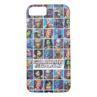 Guardians of the Galaxy | Crew Grid iPhone 8/7 Case