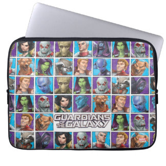 Guardians of the Galaxy | Crew Grid Laptop Sleeve